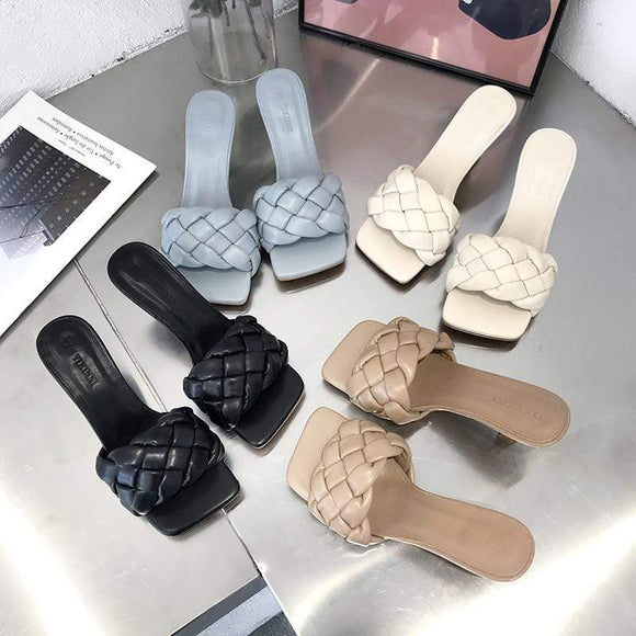 Tryot Summer Low Heels Slippers