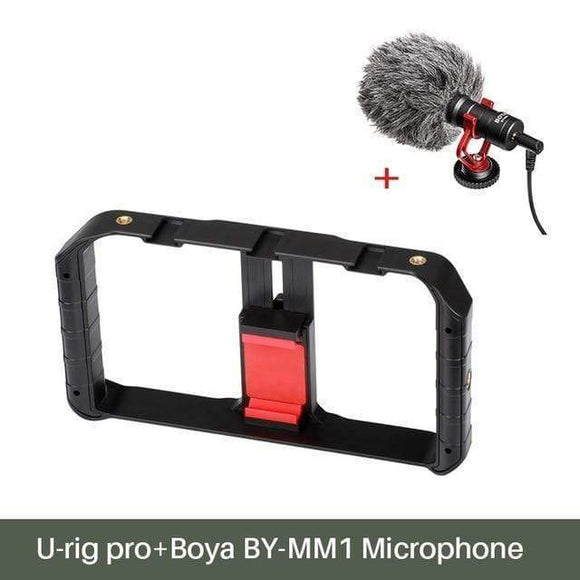 Tryot U rig w Boya Mic / Buy 1 GET 50% Off Smartphone Video Rig