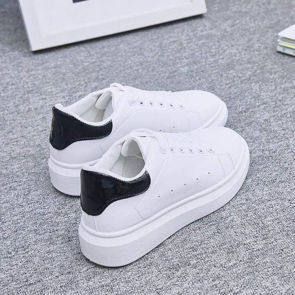 Tryot Women Shoes White Sneakers For Women Vulcanize Shoes Spring Autumn Krasovki Women Casual Shoes Basket Trainers Tenis Feminino