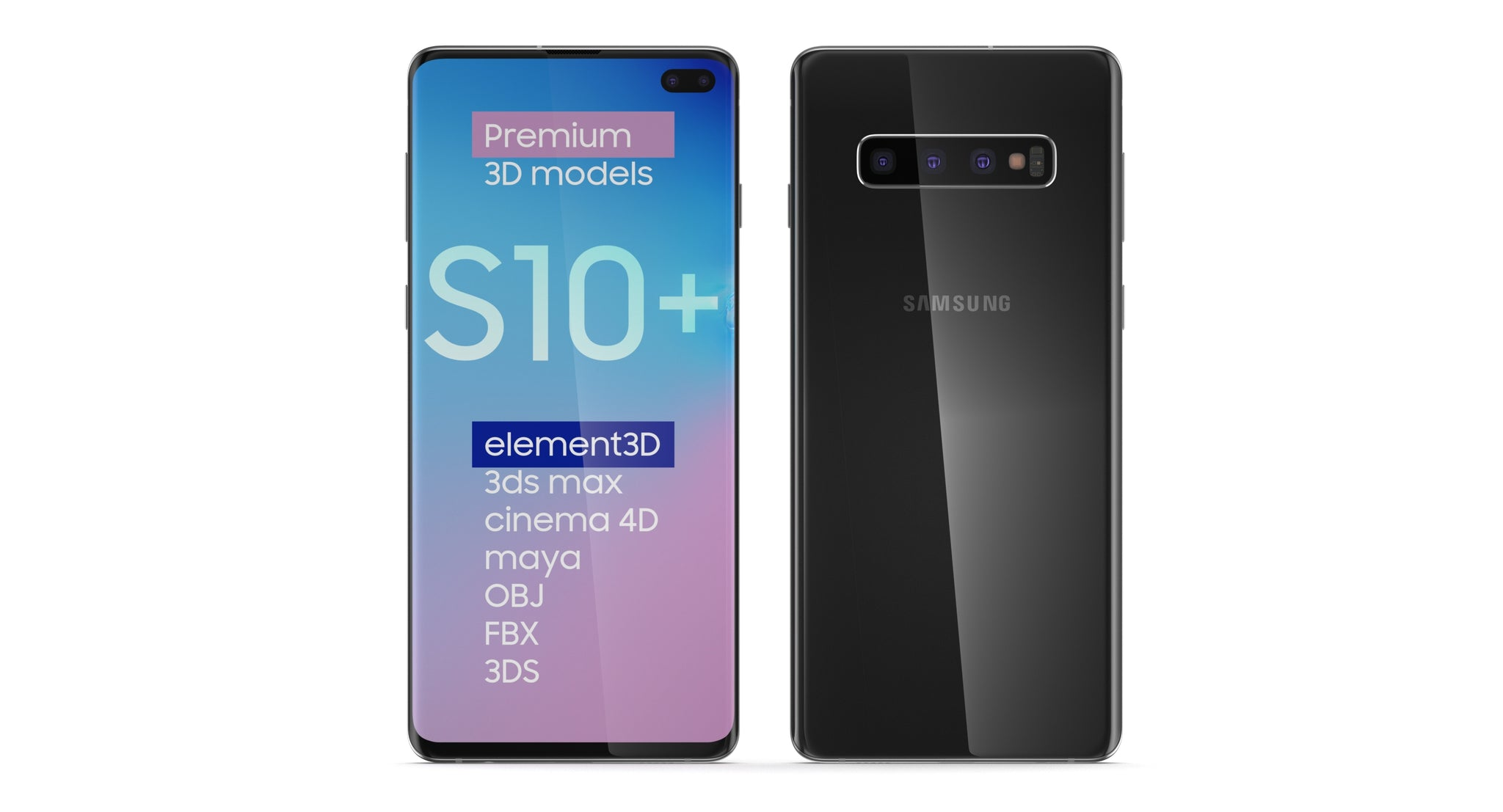 Samsung Galaxy S10 Plus Black