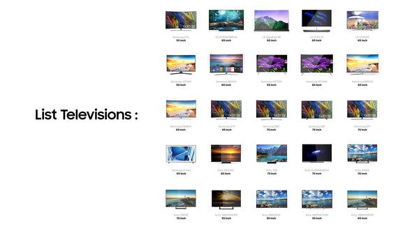25 Televisions Collection