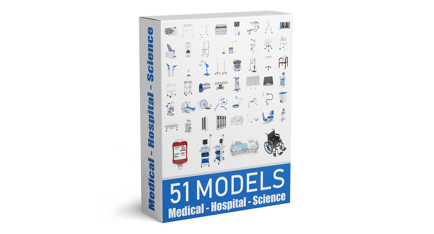 52 Models of Medical - Hospital - Science