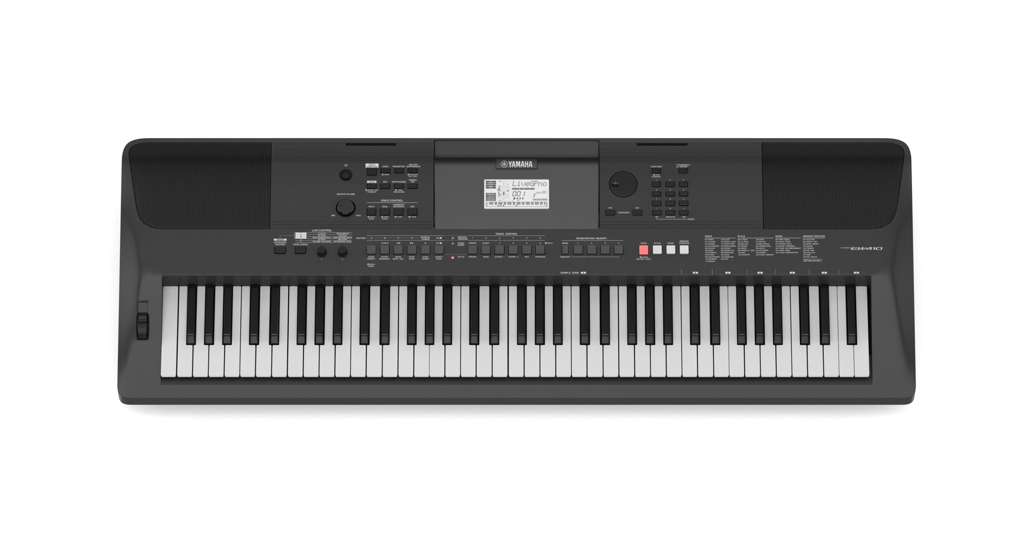 Yamaha Portable Keyboard PSR-EW410