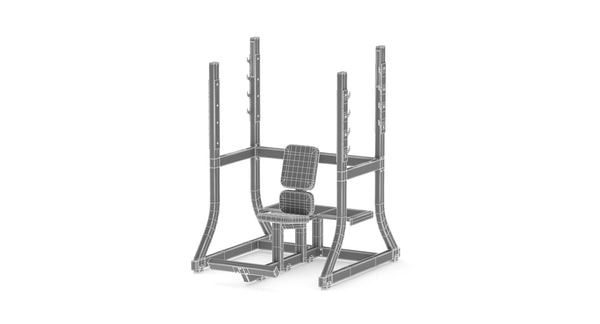 Technogym Pure Olympic Military Bench