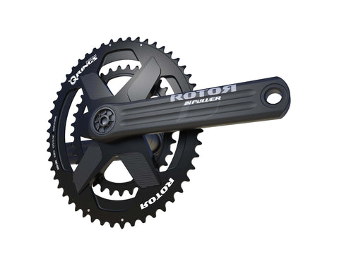 ROTOR CRANKSET ROAD INPOWER DM BLACK