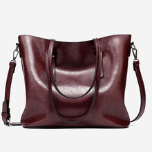 Load image into Gallery viewer, BROOKE Vegan Leather Tote