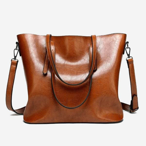 BROOKE Vegan Leather Tote