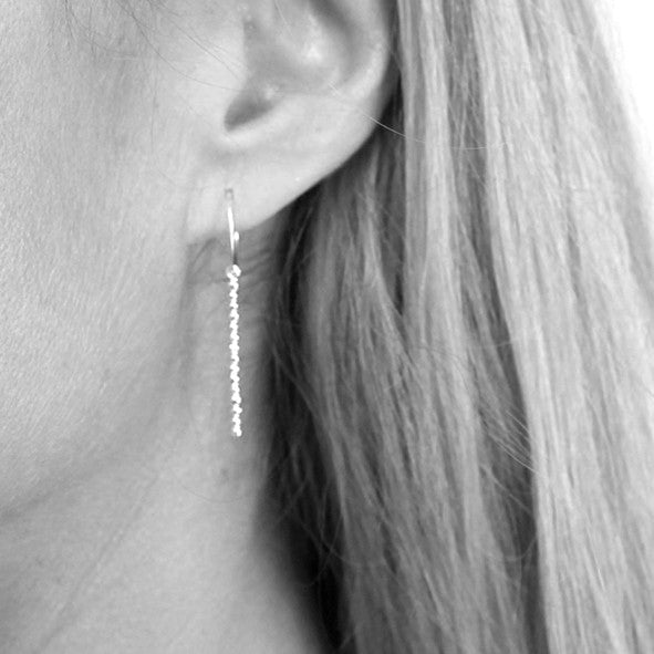 COBBLED STEP EARRINGS
