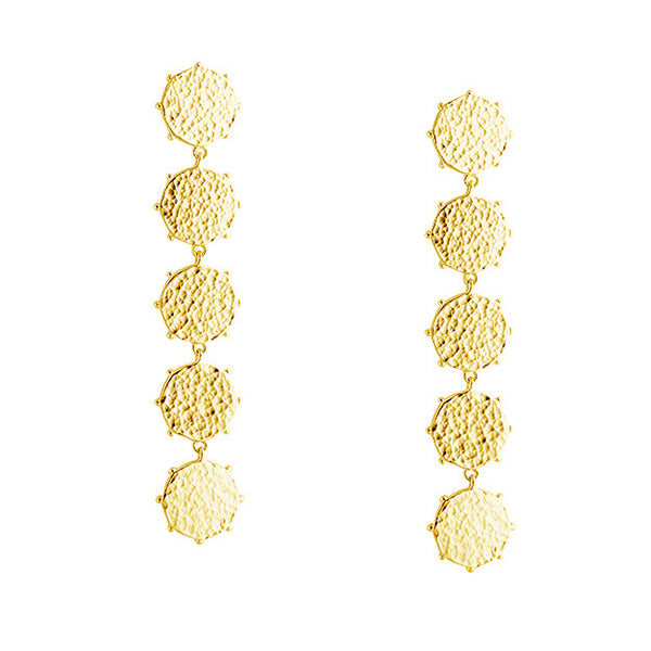 ROYAL COIN EARRINGS