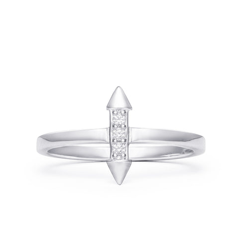 SPEAR STONE RING