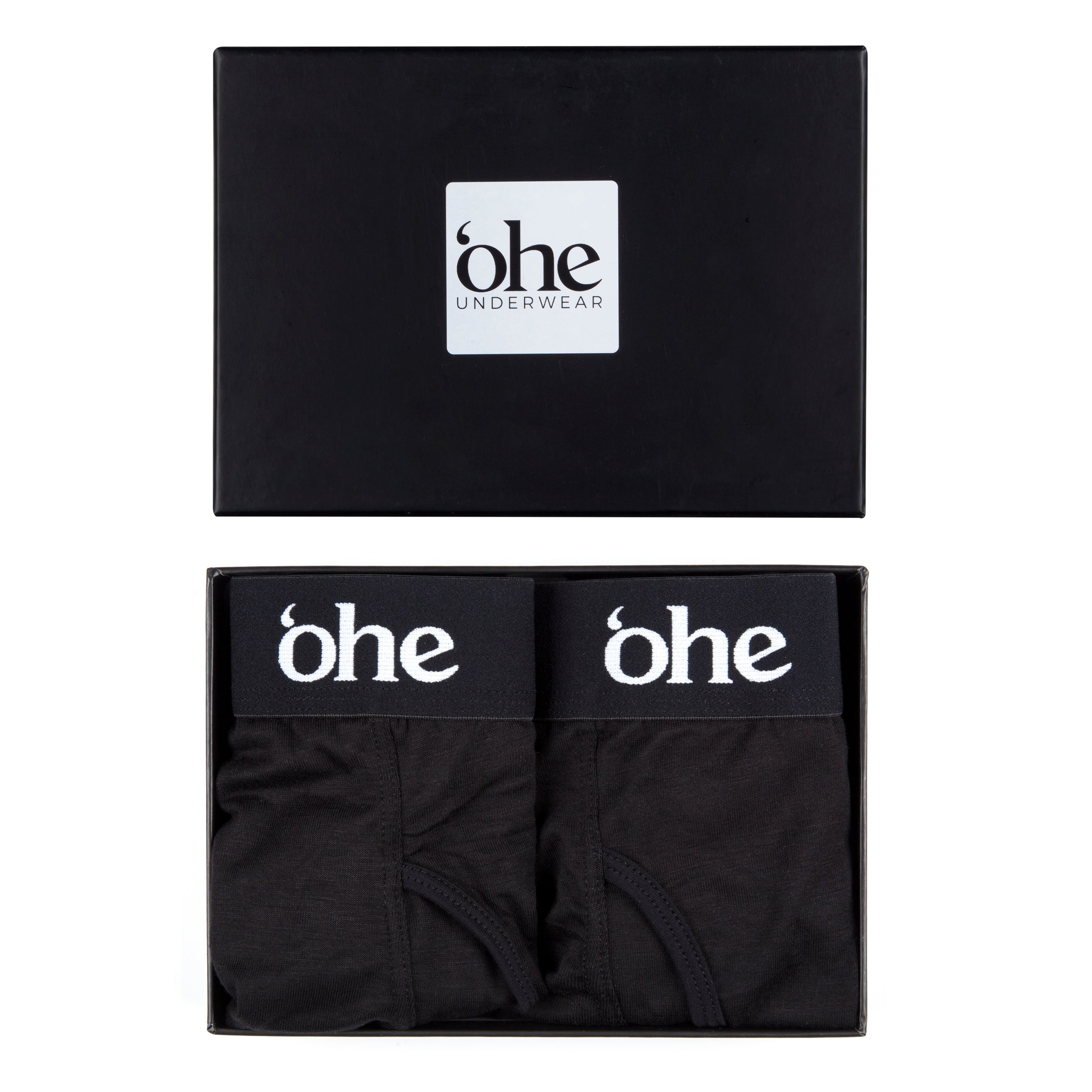 Two Pack Charcoal Bamboo Underwear - 'ohe underwear