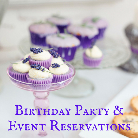 Birthday Party and Event Reservations