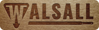 The Walsall Guitar Strap Logo