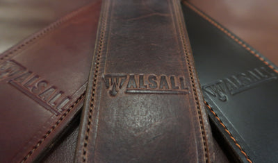 Want to Buy A Guitar Strap?  If You Want The Best It Has To Be Walsall