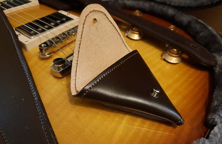 Walsall Hand Stitched Leather Pick Pouch