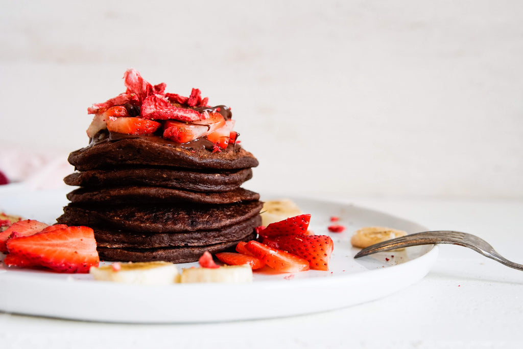 Double Chocolate Pancakes