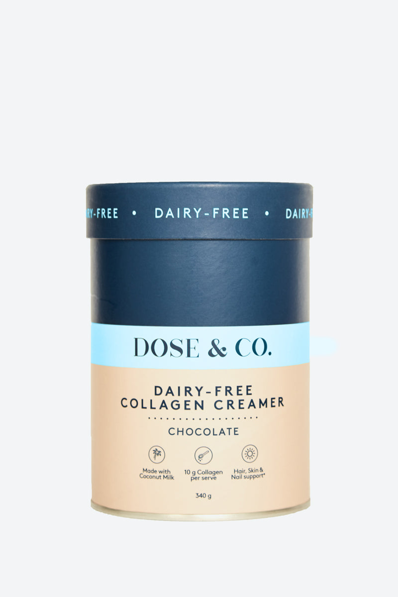 Dairy-Free Collagen Creamer - Chocolate