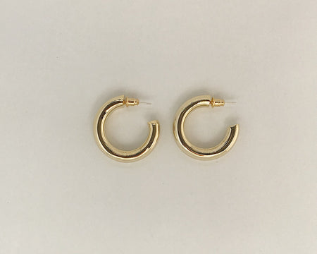 Classique Large Hoops Gold
