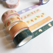 Load image into Gallery viewer, Summer Peach Washi Tape