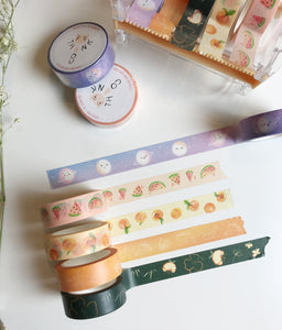 Moon Faces (Phases) Washi Tape