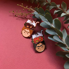 Load image into Gallery viewer, Frida Khalo Enamel Pin