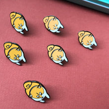 Load image into Gallery viewer, shiba inu hard enamel pin cute for dog lovers