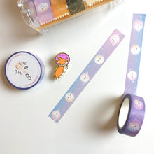 Load image into Gallery viewer, Moon Faces (Phases) Washi Tape