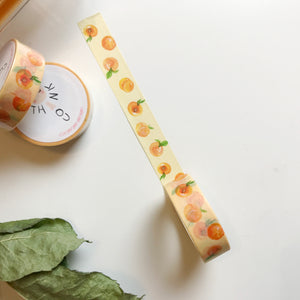 Summer Peach Washi Tape