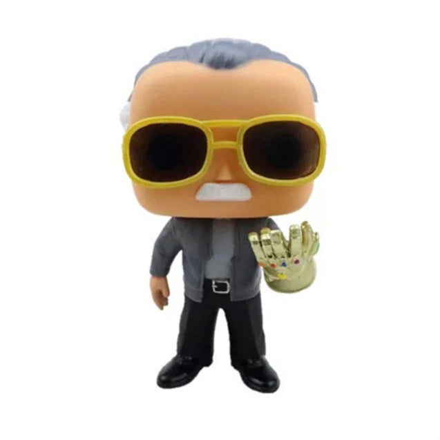 Limited Edition Stan Lee Figure---Thanos Infinity Gauntlet
