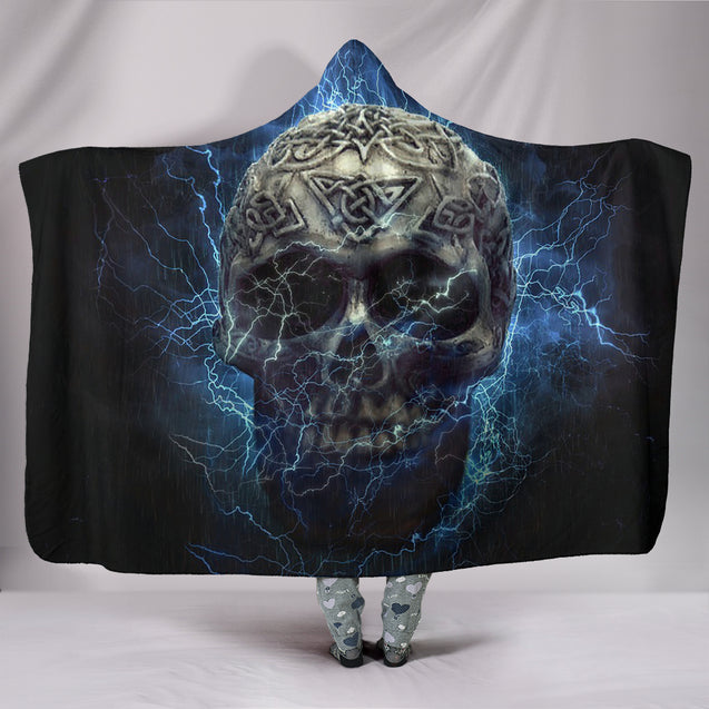 Magic Skull Hooded Blanket