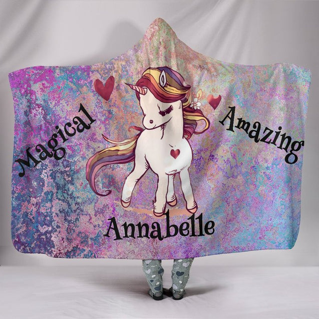 Limited Edition Magical Annabelle Hooded Blanket