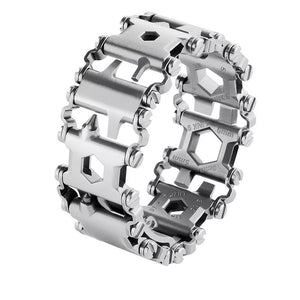 29-IN-1 STAINLESS STEEL MULTI-FUNCTIONAL TOOLS BRACELET [2 VARIANTS]