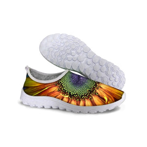 3D Sunflower Shoes for Woman