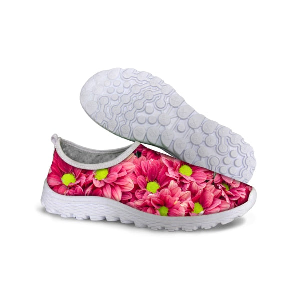 3D Flower Shoes for Woman 3