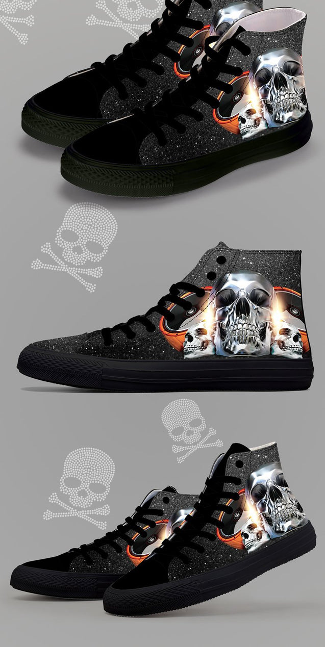 Scary High Top Shoes 2