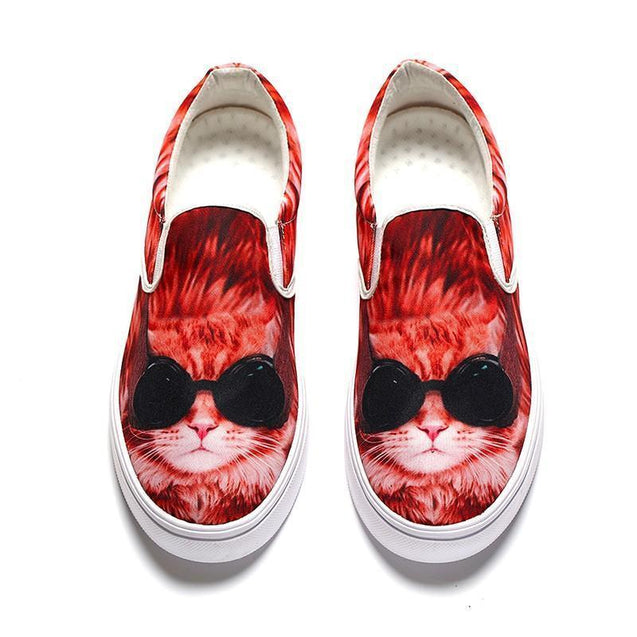 3D Cool Cat Loafers