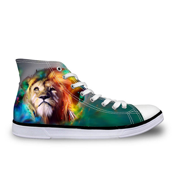 3D Lion Spirit Shoes