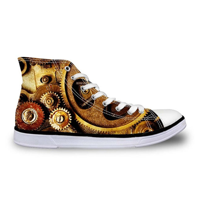3D Steampunk Sneakers