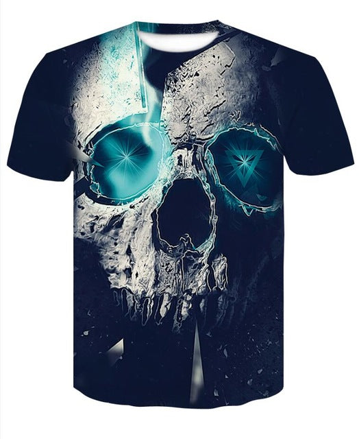 Star Eyes Skull Shirt