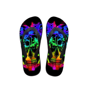 Cool Punk / Skull Slippers 1