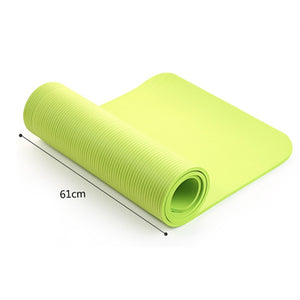 Sports Yoga Mat with Sling Elastic Strap