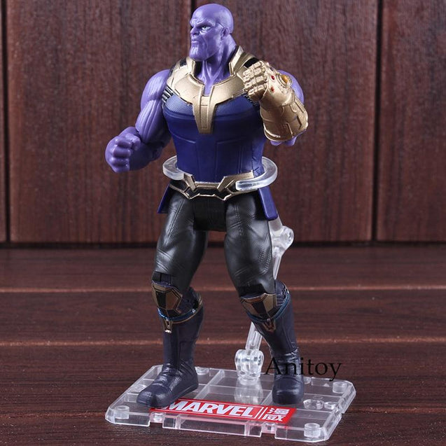The Avengers 3 Infinity War Marvel Thanos Figure PVC Thanos Marvel Legends Action Figure Collectible Model Toy 16.5cm