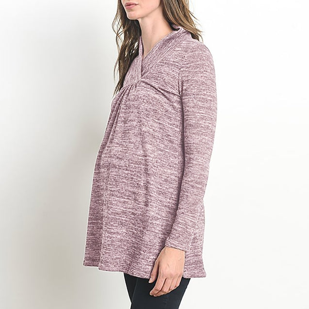 Pregnant Women Casual Loose Long Sleeve Blouses
