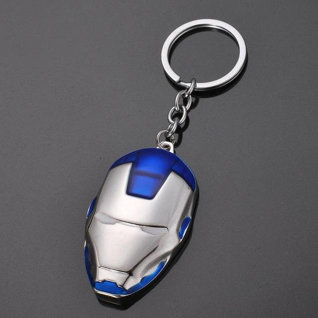 The Avengers Captain America Shield Spiderman Batman Keychain Toy Superhero Hulk Iron Man Marvel jewelry Metal Pendant Keychains