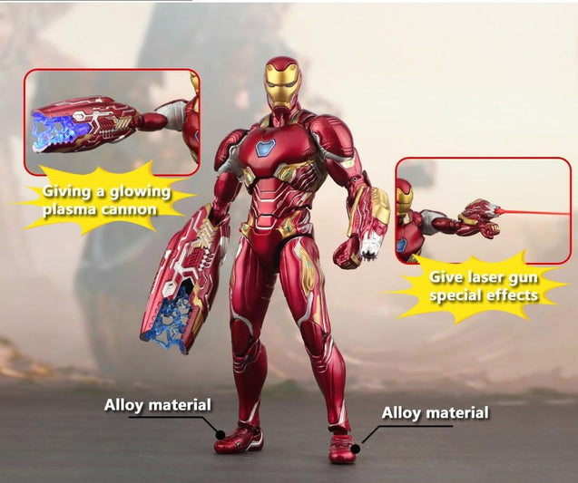 Limited Edition Iron Man Avenger with Accessories and Weapon Add-Ons
