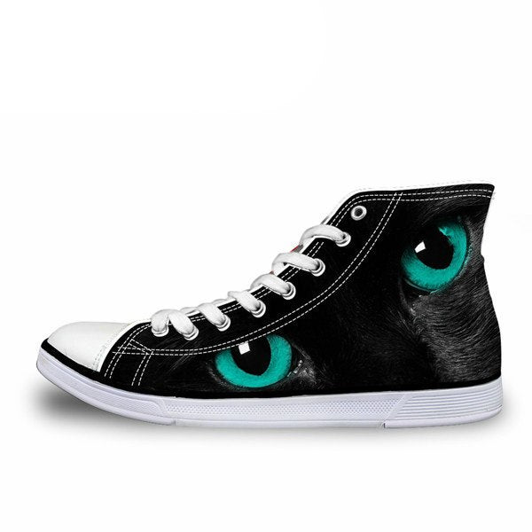 3D Cat Eyes Sneakers 6
