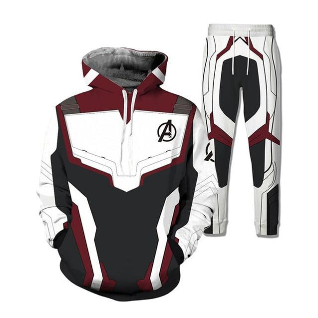 PLstar Cosmos Movie Marvel Avengers 4 Ant-Man cosplay Hoodies /Tops Match Pants/Shorts Men/Women 3D Print suit Men's Sportswear