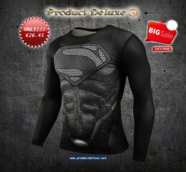 Superhero Fitness Compression Shirt