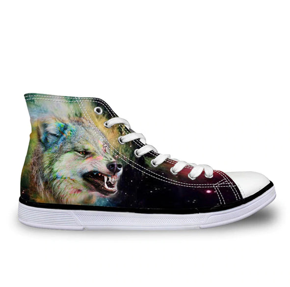 3D Wolf Teeth Shoes