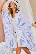 Load image into Gallery viewer, Side Slit Tie-Dye Kimono
